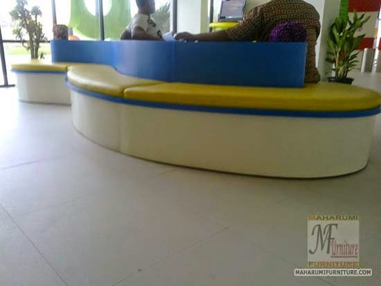 Projects Hotel Pop Bandara Cengkareng: Custom Furniture Bangku Panjang Ruangan Lobby