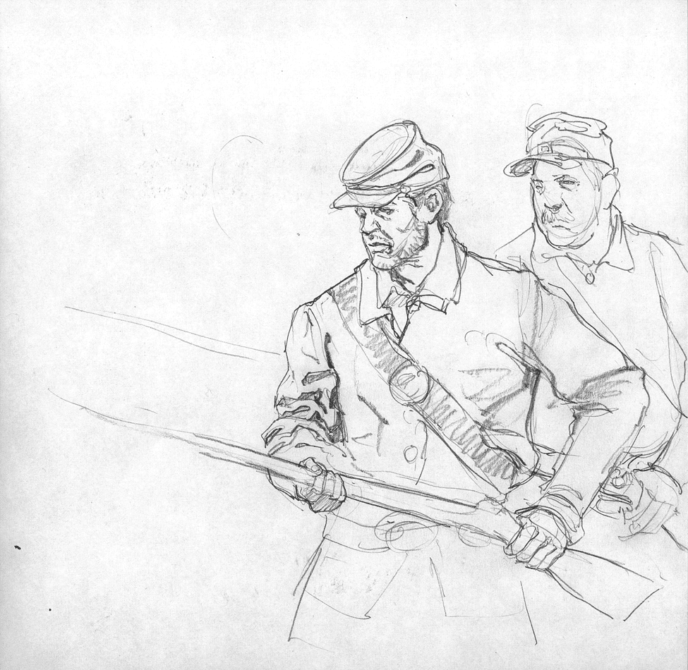 art in a busy world some civil war sketches