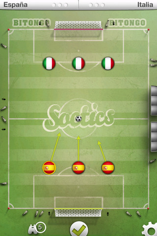 Soctics League - iOS iPhone / iPad