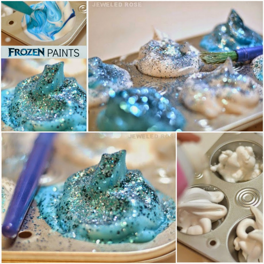 Frozen Paint Recipe