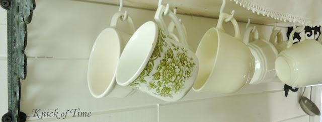Vintage tea cups - www.KnickofTime.net