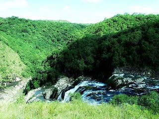 Queda d'água do Rio da Maluda, Criúva, Caxias do Sul.
