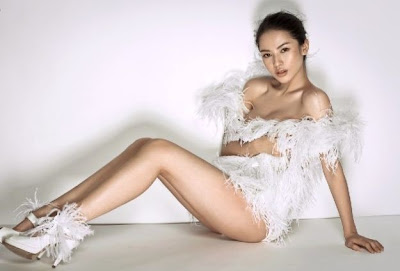 China Beautiful Model Pan Shuangshuang 潘霜霜