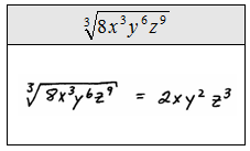 Worksheets Simplifying Square Roots With Variables Worksheet openalgebra com simplifying radical expressions simplify assume all variables represent positive numbers