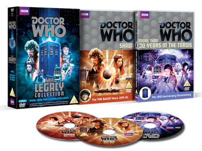 The Doctor Who Legacy Collection box set