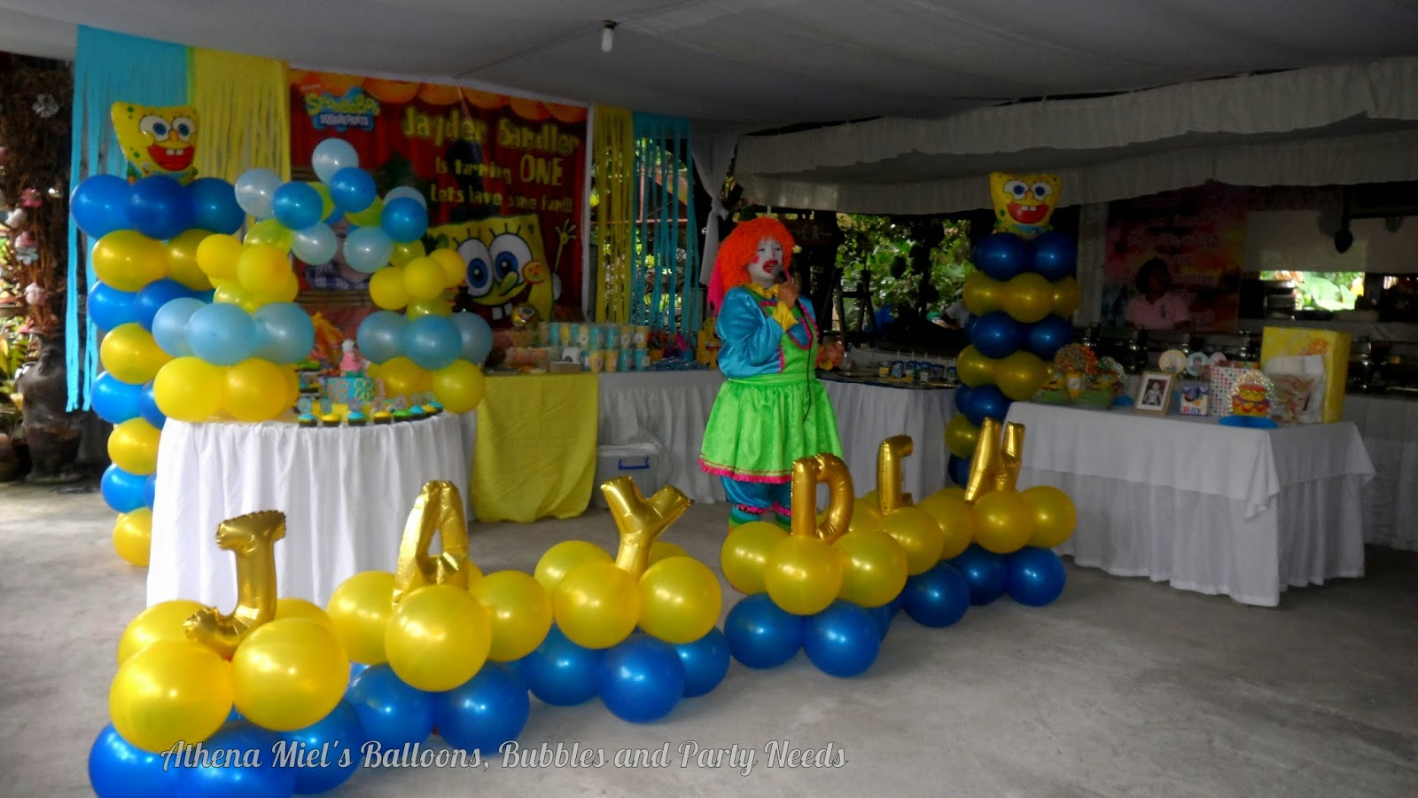 Birthday Party Athena Miels Balloons, Bubbles and Party Needs ...