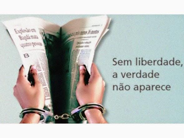 Sem liberdade, a verdade não aparece...
