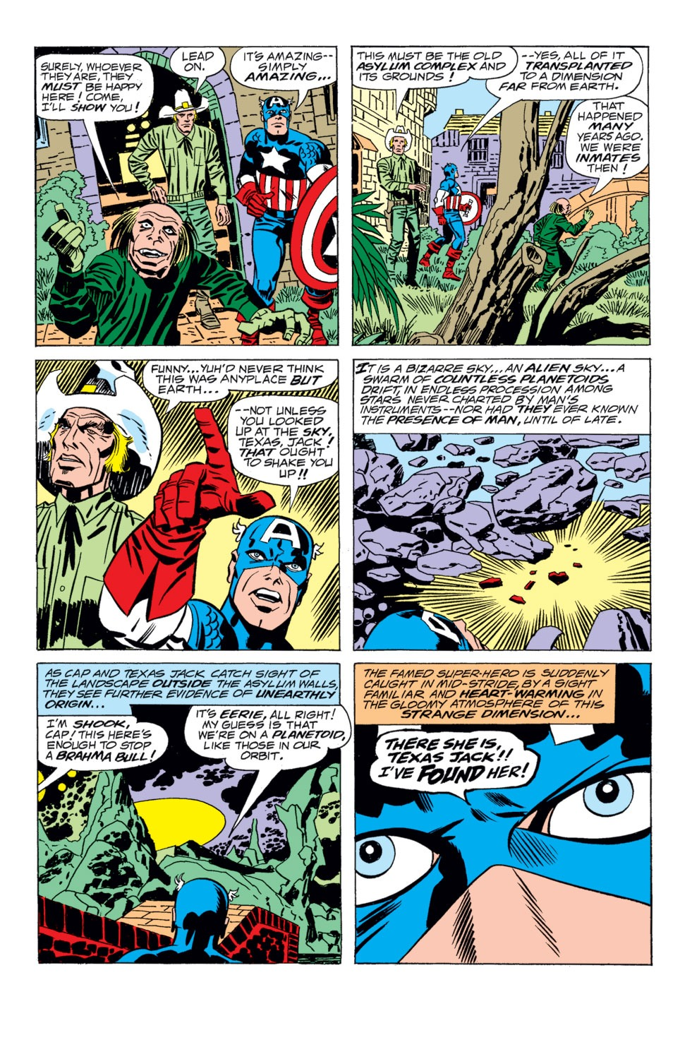 Captain America (1968) Issue #203 #117 - English 5