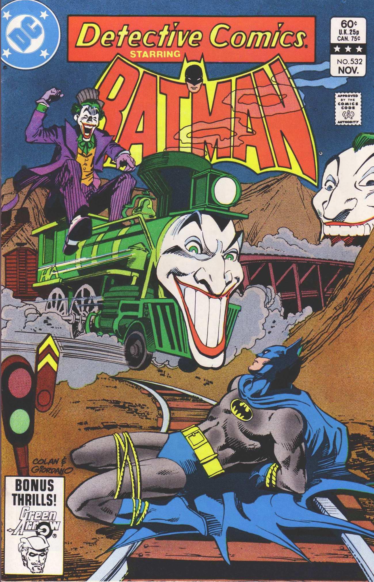 Detective Comics (1937) 532 Page 1