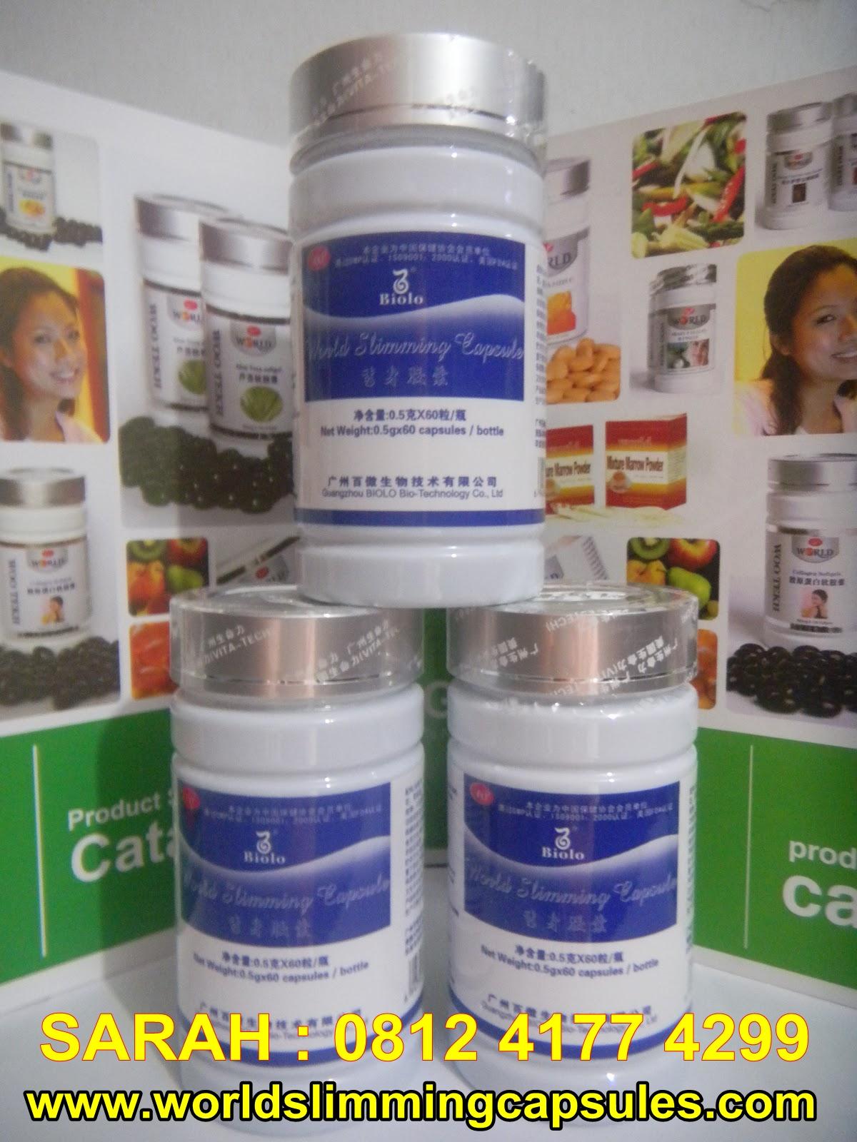 Obat Pelangsing Badan Herbal Alami Biolo Wsc | Caroldoey