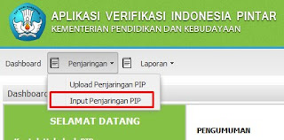 Cara Isi Aplikasi program Indonesia Pintar Menu Penjaringan
