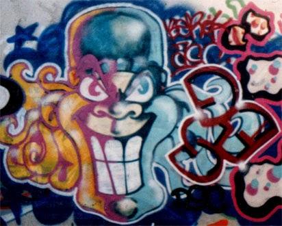 Graffiti careto vieja escuela