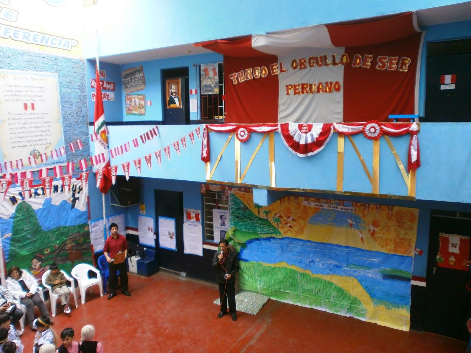 Exposición patriótico 2013