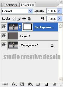 beri efek bingkai atau frame dengan cara filter >> brush strokes ...
