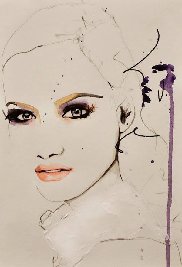 nuncalosabre.Fashion Illustration - Leigh Viner