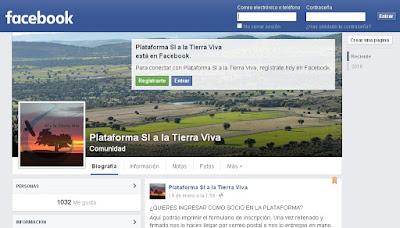 https://www.facebook.com/PlataformaSIalaTierraViva