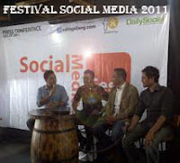 Festival Sosial Media 2011 Bertema Social Media is YOU