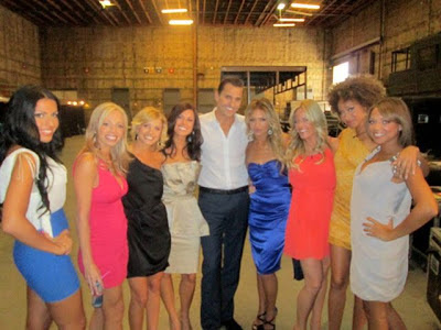 Behind the scenes NBC Ready for love with Bill Rancic!