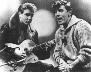 Elvis Presley y Gene Vincent