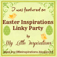 Easter Inspirations Linky Party features