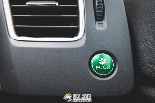 ECON Fuel Save Button on Honda Civic