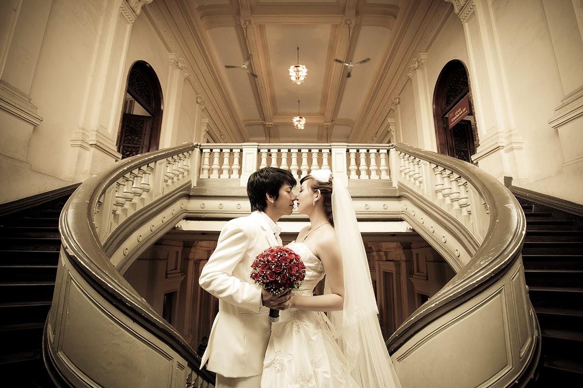 ảnh cưới đẹp được chụp tại Thành Phố Hồ Chí Minh
