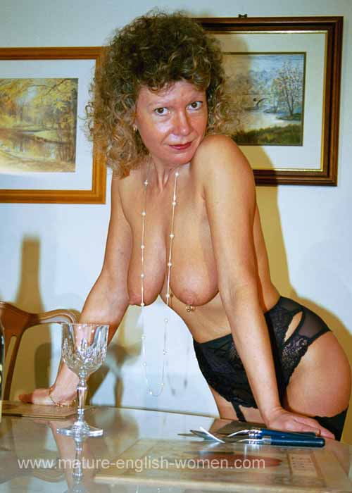 A mature glamour model in uk