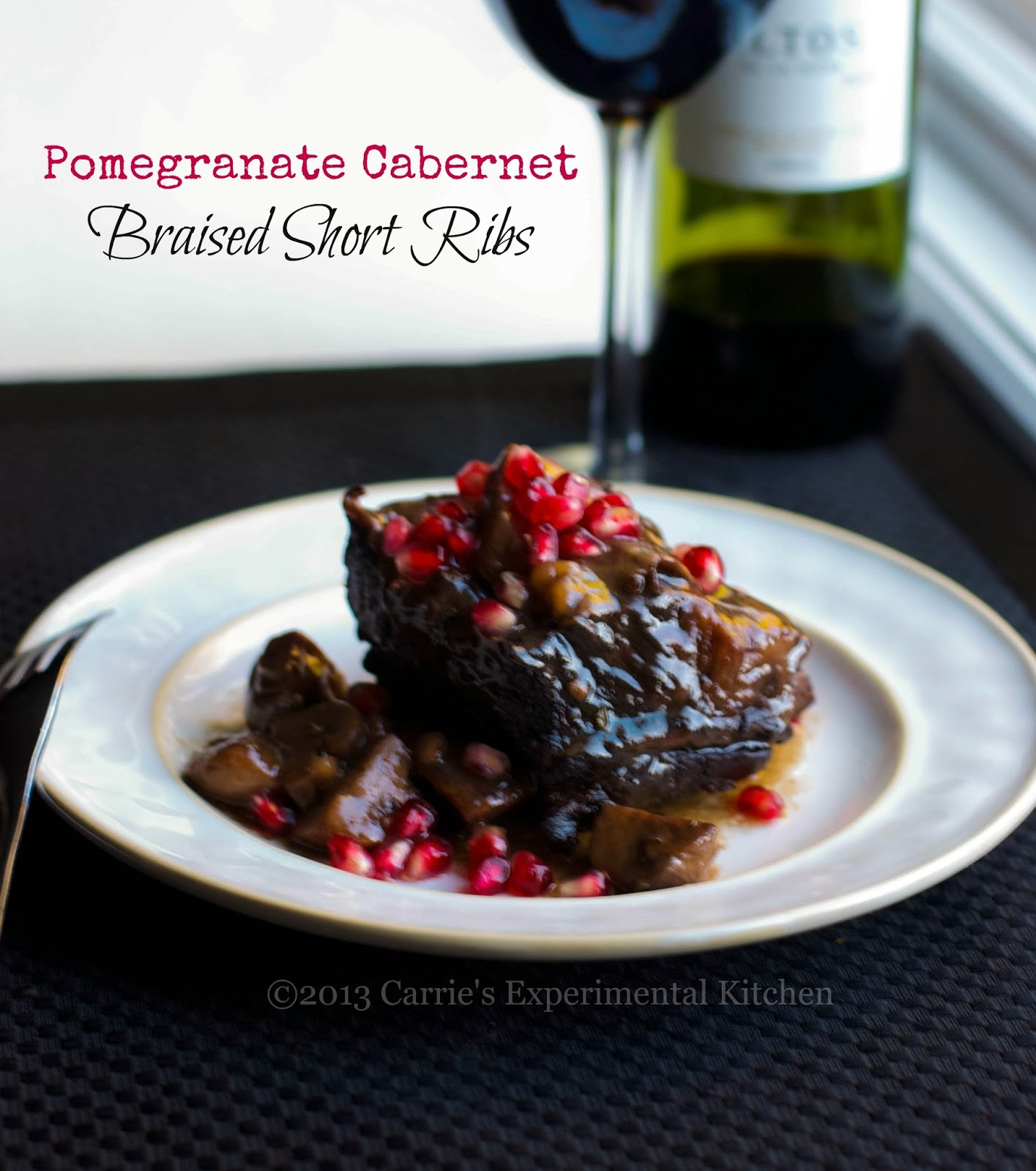 Carrie's Experimental Kitchen: Pomegranate Cabernet ...