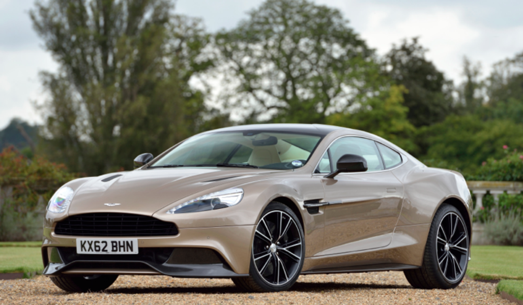 #9 Aston Martin Vanquish