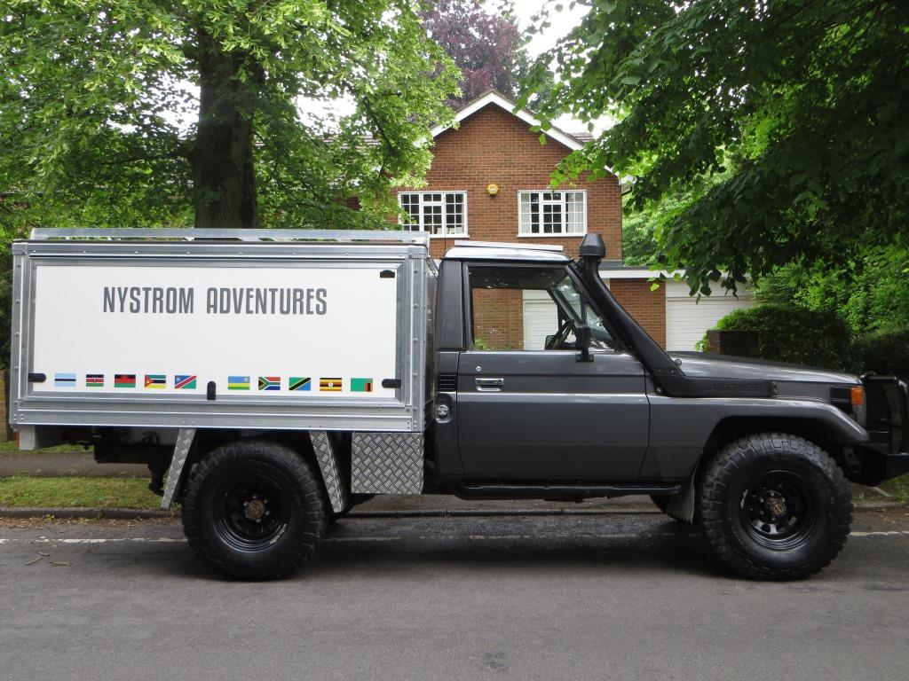 Nyström Adventures: We\'re selling our 4x4 - TONKA