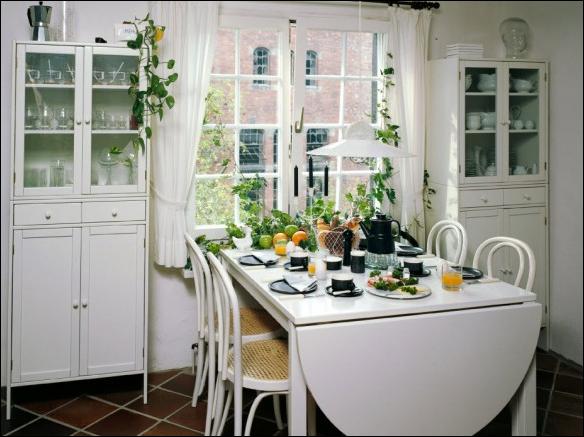 Cottage dining room design ideas room design inspirations for Cottage style dining room ideas
