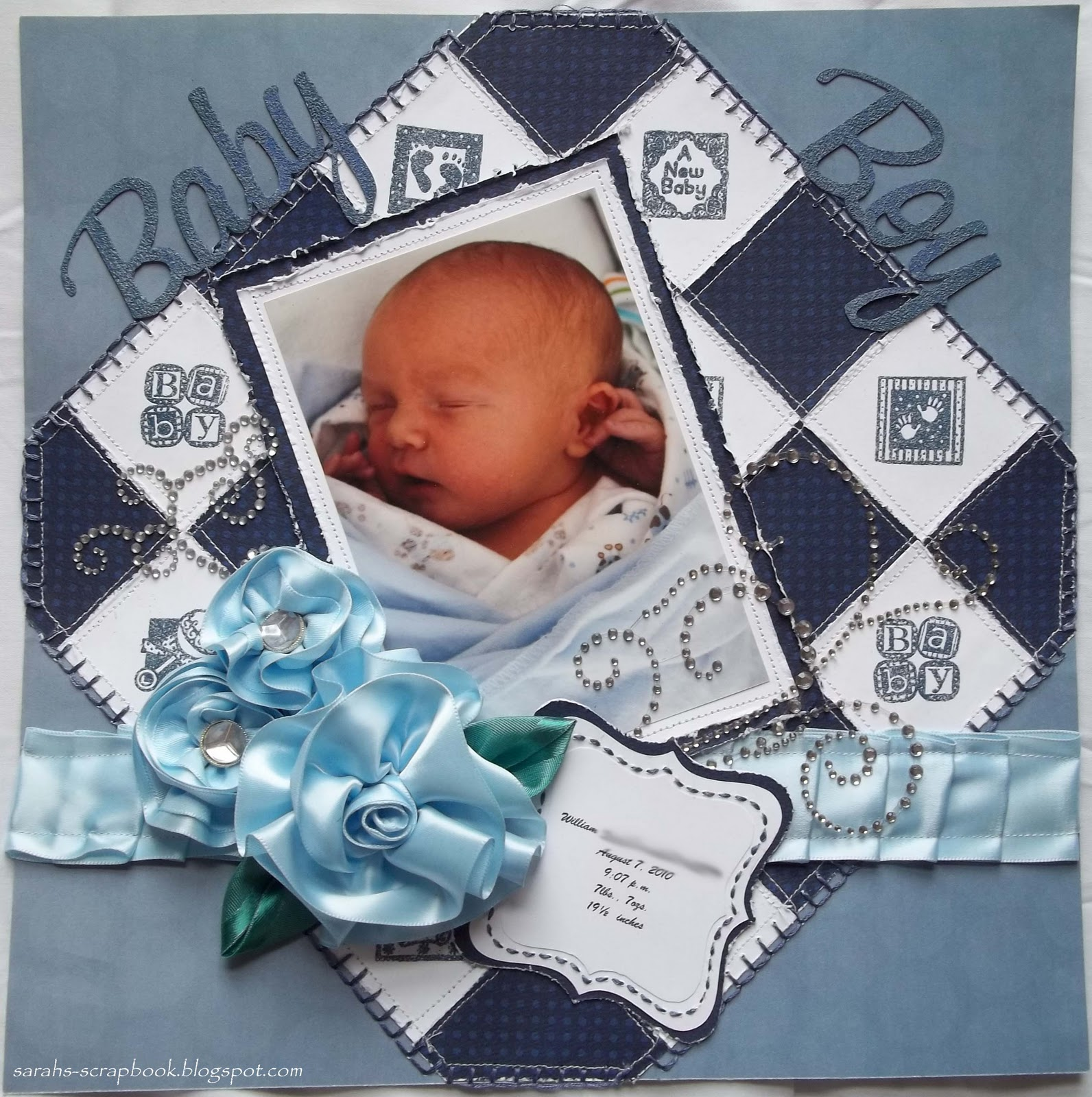 Scattered Pictures And Memories Quot Baby Boy Quot