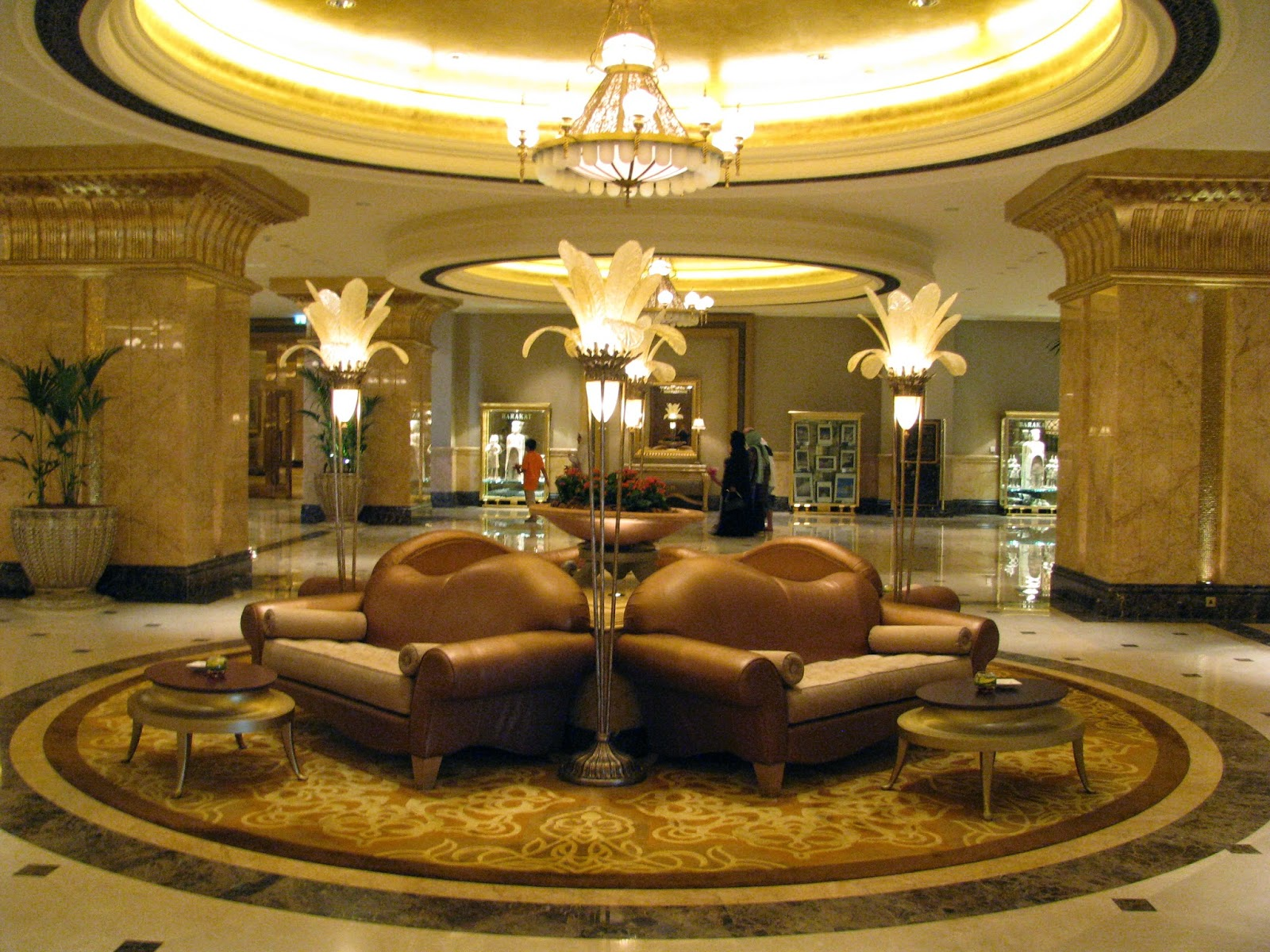 Interiors Of Emirates Palace Abu Dhabi Interior Design