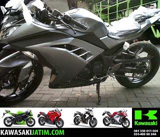 Ninja 250FI Grey