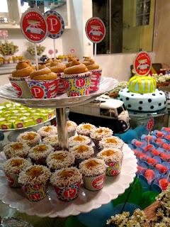 cupcakes Cupcakes para o chá de bebê de Pedro!!