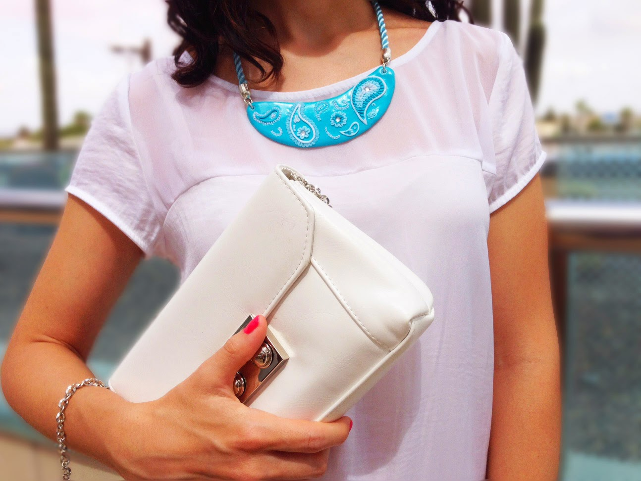 Collar NM Designs, Bolso MARYPAZshoes