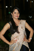 Anasuya sizzling photos in saree-thumbnail-13