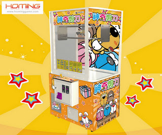 Cut string prize game machine,barber cut arcade game