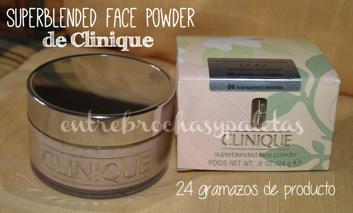 superblended face powder clinique