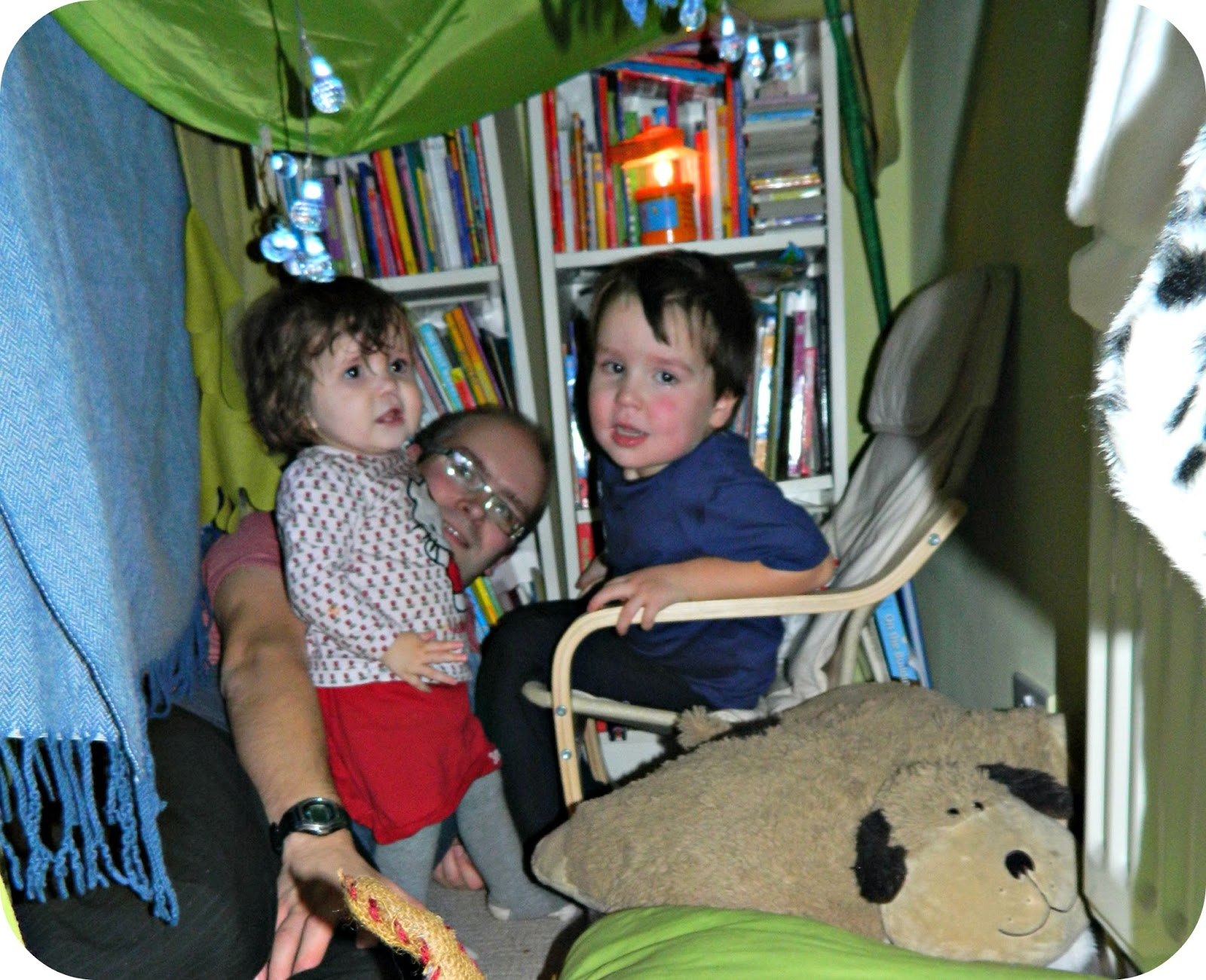 Den Building fun