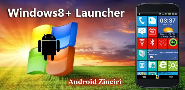 Windows8 / Windows 8 + Launcher v2.2 Apk