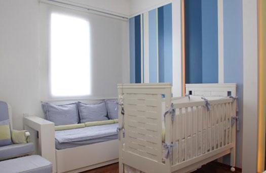 Decoração de Interiores Papéis de parede para decoração do quarto do bebê