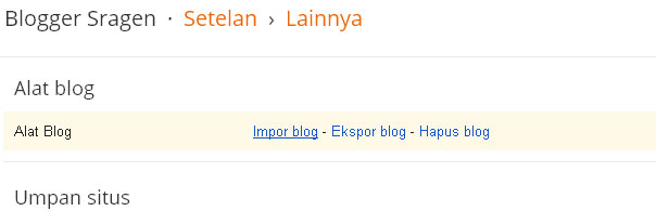import blogspot