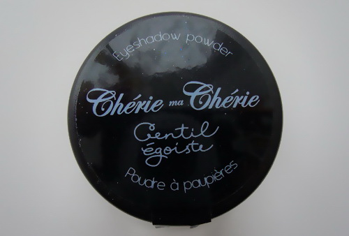 Cherie ma Cherie, Eyeshadow Powder, Gentil Egoiste, glitter, Reviews