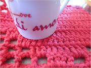 Idea para tapete romántico de corazones a ganchillo y punto red, . tapete de corazones de crochet