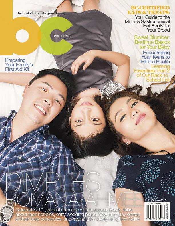 Dimples Romana Ahmee And Family On The Cover Of Bc