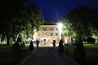 photo de nuit château de la garde