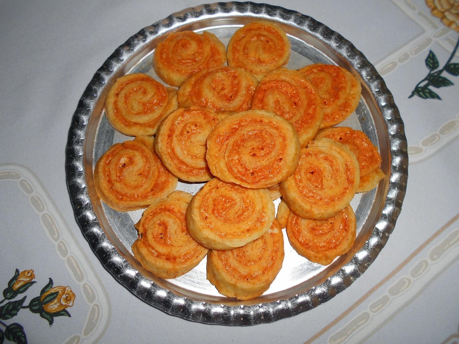 Sós sütemények-sajtos