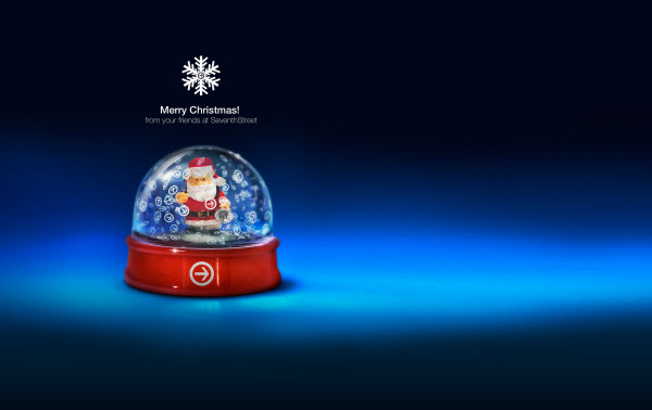 Desktop Wallpaper Christmas Snow Globe