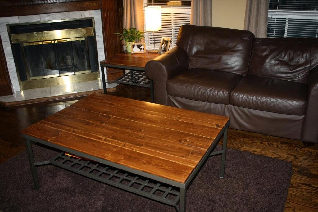 Wood Blues Refurbished Ikea Granas Coffee Table Top